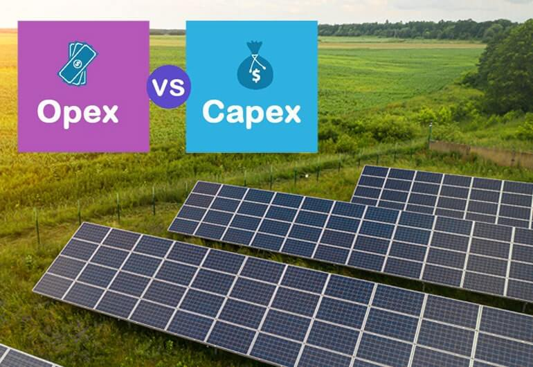 Solar Opex Vs. Capex: Which one to choose for your solar requirements?